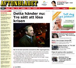 2014-12-03 Aftonbladet - Tuff dag på jobbet