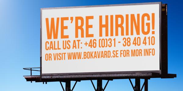 Vi söker duktiga medarbetare