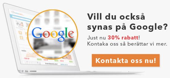 Vill du synas på Google?